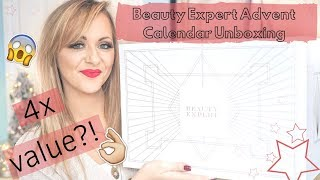 BEAUTY EXPERT ADVENT CALENDAR UNBOXING 2018 - WORTH £450! - LADY WRITES