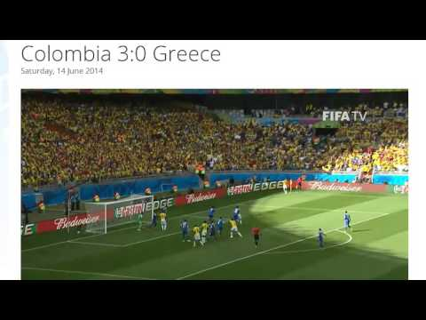 Colombia 3-0 Greece All Goals & Highlights HD ( FIFA World Cup Brasil 2014)