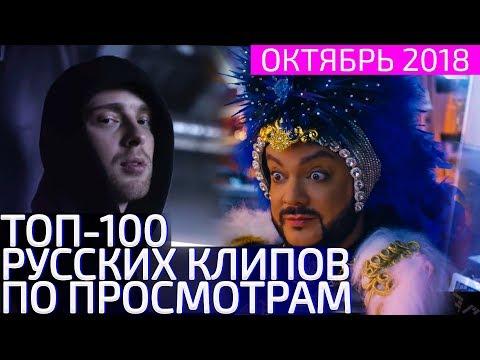 ТОП-100 РУССКИХ КЛИПОВ ПО ПРОСМОТРАМ 😍 ОКТЯБРЬ 2018