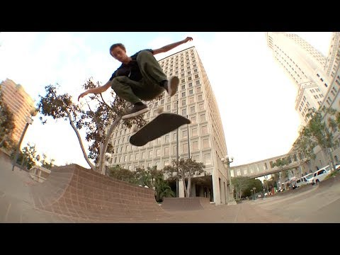 "Rough Cut: Justin Drysen's ""HUF 002"" Part"