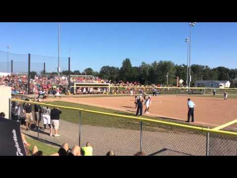 USA Women's Softball Team in Findlay