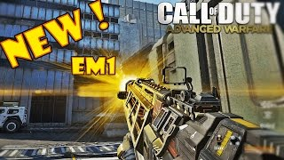 "CoD: Advanced Warfare - Laser Gun ""EM1"" Gameplay! (COD: AW Montage)"