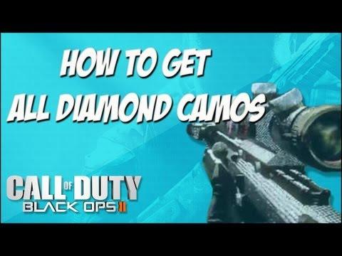 Gold Camo Black Ops 2 Black Ops 2 Diamond Pdw