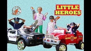 New Sky Kids Super Episode - The Ice Cream Cart, The Kids Fire Engine and The Heroes