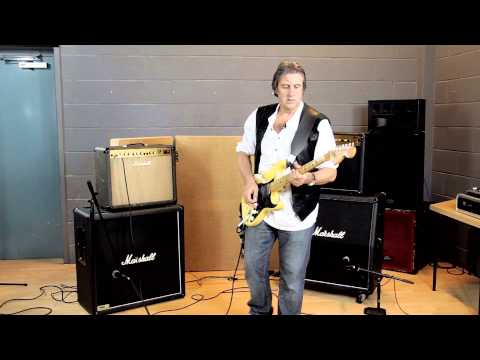 Marshall Amps - Valve vs. Solid State comparison by The Clan's Craig McDonald