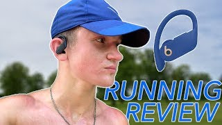 Powerbeats Pro Running Review! (vs AirPods)