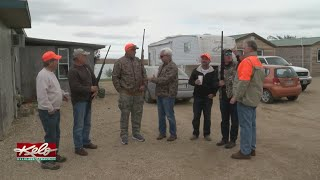 Out-Of-State Hunters Enjoying Hunting Preserve