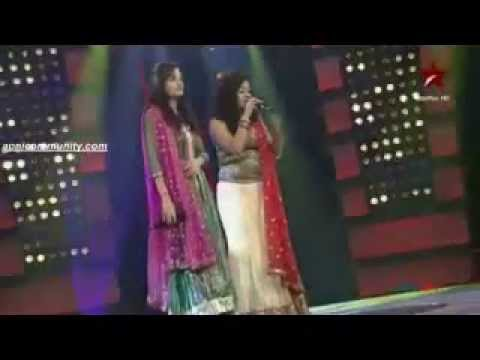Anwesha vs Akanksha in JJWS2 Pre-final - Dola re Dola from Devdas...