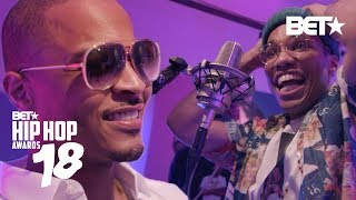 The Booth Ft. T.I., Anderson .Paak, Shiggy, Safaree and More! | Hip Hop Awards 2018
