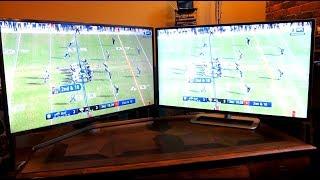 HDTV 4K Ultra HD (2160p) versus Full HD (1080p) Screen Quality