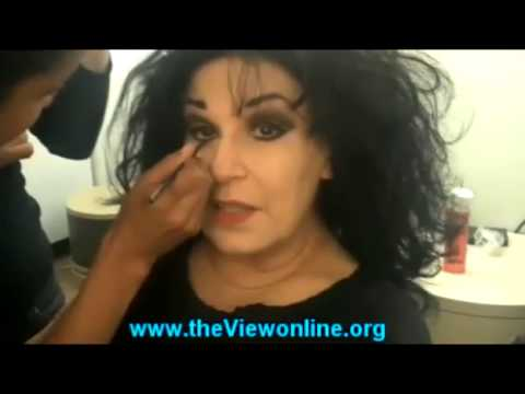 The View -  Lisa Niemi, wife of Patrick Swayze   [HD video]   11/02/2009