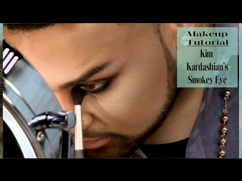 Kim K Smokey Eye Tutorial | @mac_daddyy for ModaMob #4