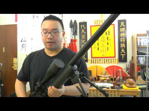 APS APM50 Shell Ejecting Co2 Sniper Rifle Destruction Power - Airsoft or Airgun? Seriously.