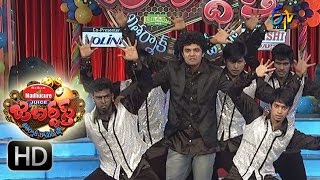 Jabardasth – 31st December 2015 - Bhushan's Dance Performance in Jabardasth New Year Celebrations