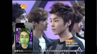 [ENG SUB] 2/5 EXO-M @ Happy Camp 120609