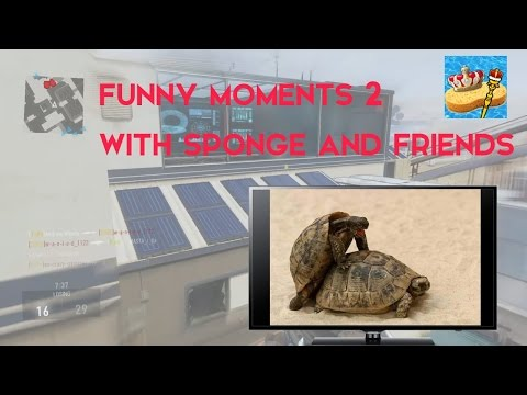 Advanced Warfare Funny Shit #2 With Sponge. Biscuits, Tea And Animal Porn! video