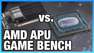R3 2200G & R5 2400G vs. GT 1030 & Cheap CPUs | Game Benchmarks