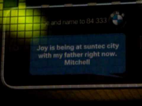 BMW Joy 3D - SMS Interactive Billboard