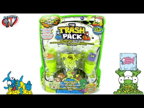 The Trash Pack Series 5 Liquid Ooze Pack Toy Review. Moose