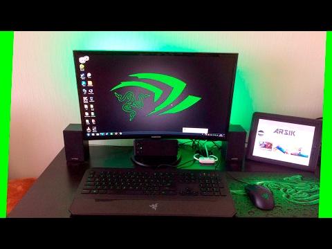 РАБОЧЕЕ МЕСТО ПОДПИСЧИКОВ 6!!! ПК ДЛЯ ИГР с GeForce GTX 1070!