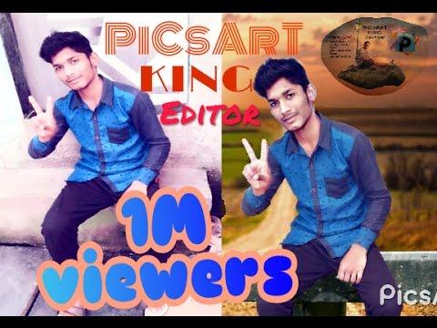 Picsart KING Editor | Heart Broken | Photo Manipulation Editing Tutorial