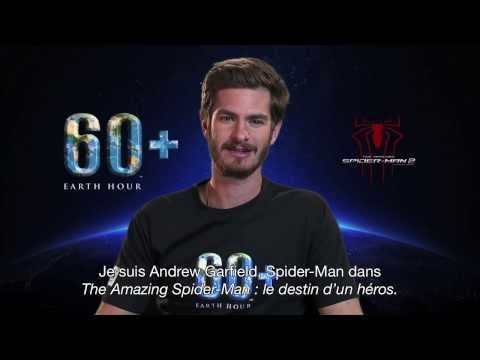The Amazing Spider-Man : Le Destin d'un Héros - Earth Hour - Andrew Garfield - VOST