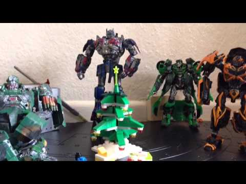 A Prime Christmas- transformers aoe stopmotion
