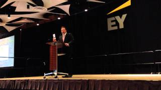 Jonathan Keyser speaking at 2014 Phx EY annual event