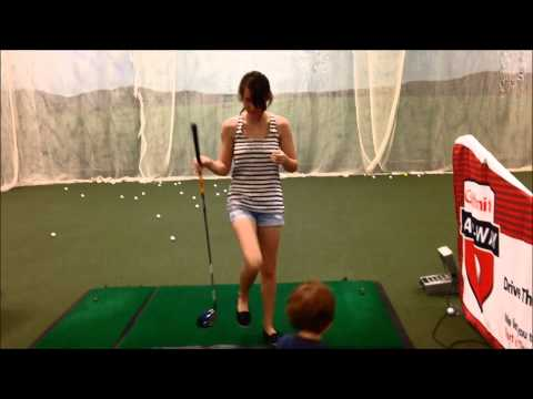 Mommy Golf Swing September 17, 2014