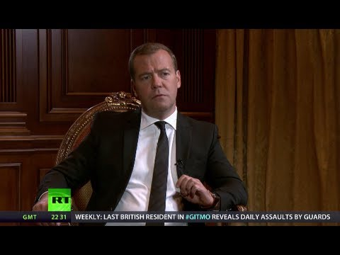 Medvedev: Russia's top priority in S.Ossetia was to defend our citizens, interests (RT EXCLUSIVE)