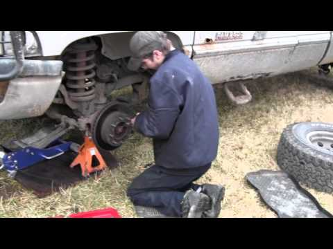 Dodge Ram Front Wheel Bearing Failure and Replacement Part 1
