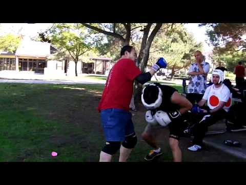 Boxing vs Wing Chun Sparring (hands only) at Open Martial Arts Meetup Image 1