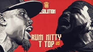 T-TOP VS RUM NITTY RAP BATTLE | URLTV