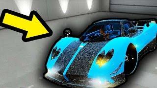 SECRET RARE CAR FOUND IN GTA 5!  - *FREE* Extremely Rare Car Location!   (GTA 5 Rare Cars)