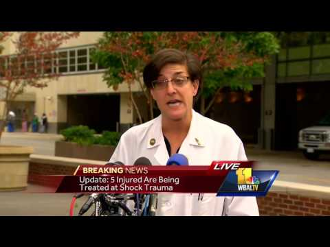 Video: Shock Trauma provides update on bus accident victims