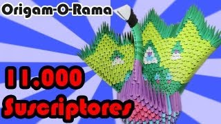 Tutorial - Pavorreal (#origami3d)