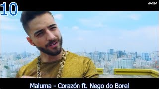 download lagu Top 10 Latin Songs  December 16, 2017 gratis