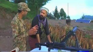 Mahaaz 24 September 2016  Wajahat S Khan with Pakistan Army at India Pakistan LOC