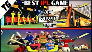 Best IPL Game for Android 2019   WCB t20 Premier league Game Review   Must watch
