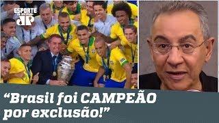 """Brasil 3 x 1 Peru: """"campeão por EXCLUSÃO!"""", dispara Flavio Prado"""