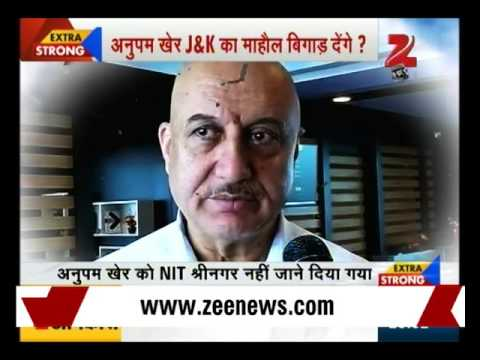 Why Anupam Kher was restricted to visit NIT, Srinagar ? | Part I