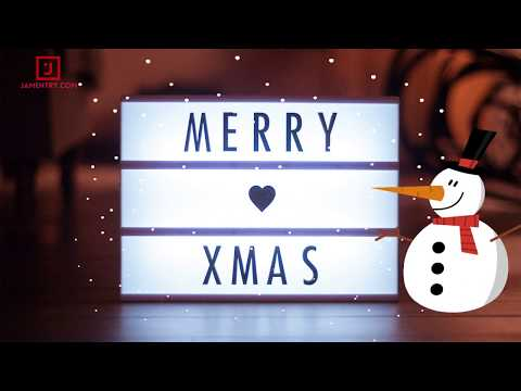 Animation - We Wish You a Merry Christmas and A Happy New Year 2018