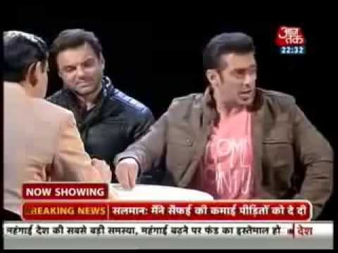 Salman khan blasts on Sidhi Baat Aaj Tak Rahul K