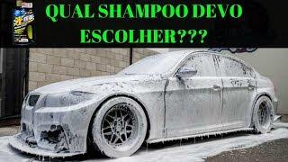 O que observar em um Shampoo pra lavar carro?