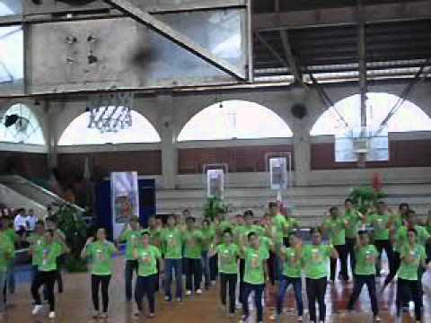 Blessed Trinity School of Las Pinas 30th Anniversary - Field Demo by Batch 2012 - 07/30/2012