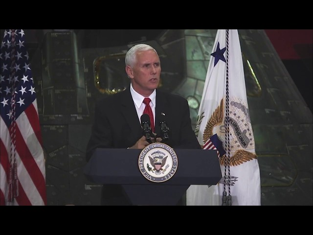 Vice President Pence Visits NASAs Kennedy Space Center