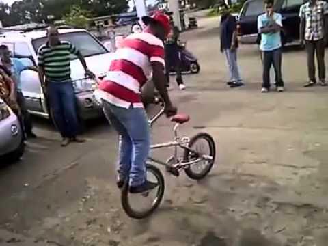 Trucos en bicicleta