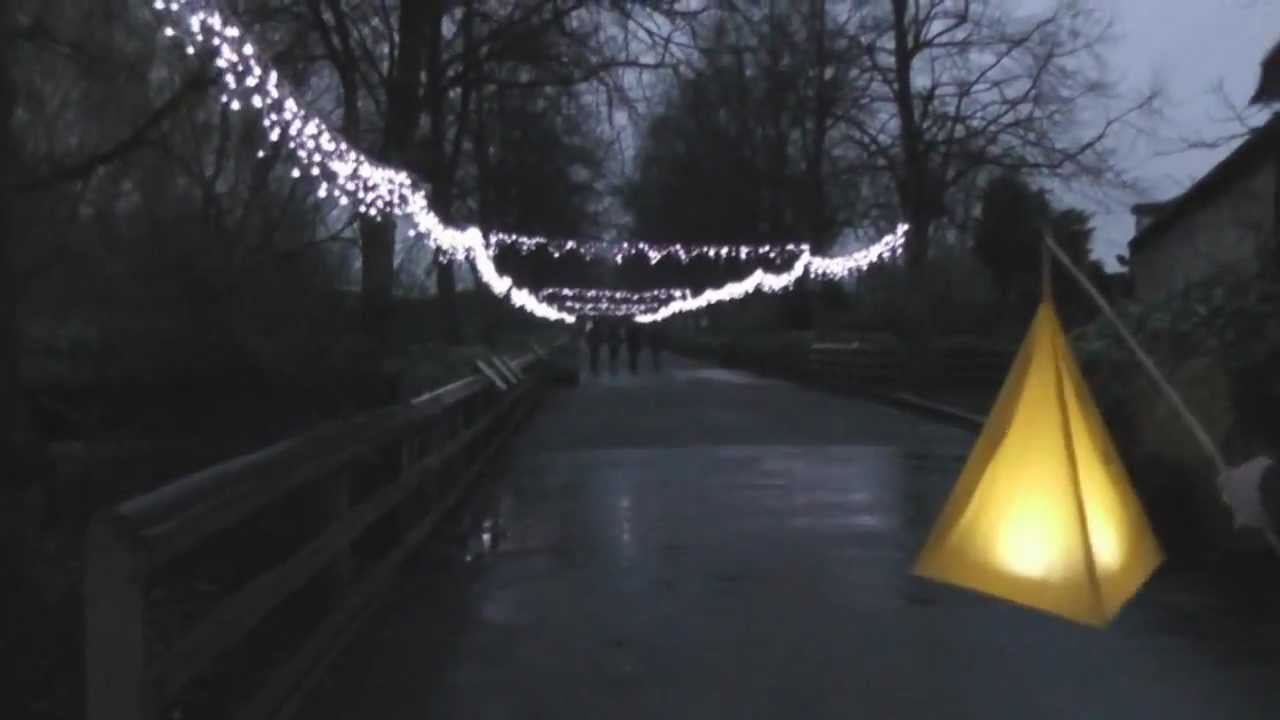 Christmas Lantern Magic at Chester Zoo - YouTube