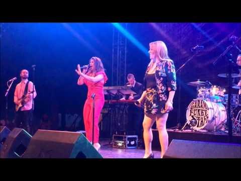 Garami Funky Staff feat. Tóth Vera & Veres Mónika Nika - Bikás park live (2017. 05. 28.)