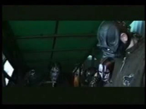 Slipknot Backstage at Ozzfest 2001